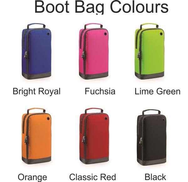 boot bag colours