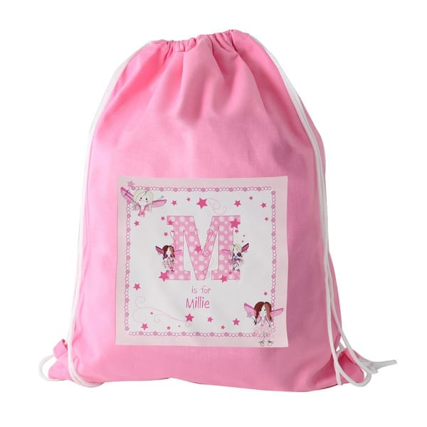 Personalised Gym Bag – Fairy 959aa8d8f9619