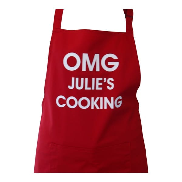 Personalised Apron - OMG