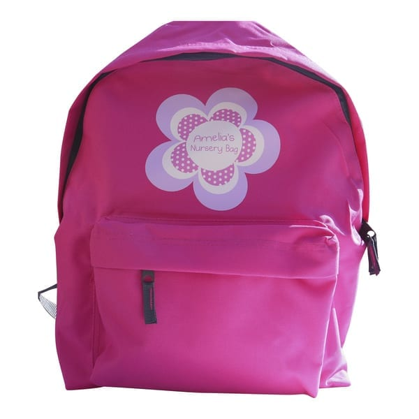 personalised girls backpack