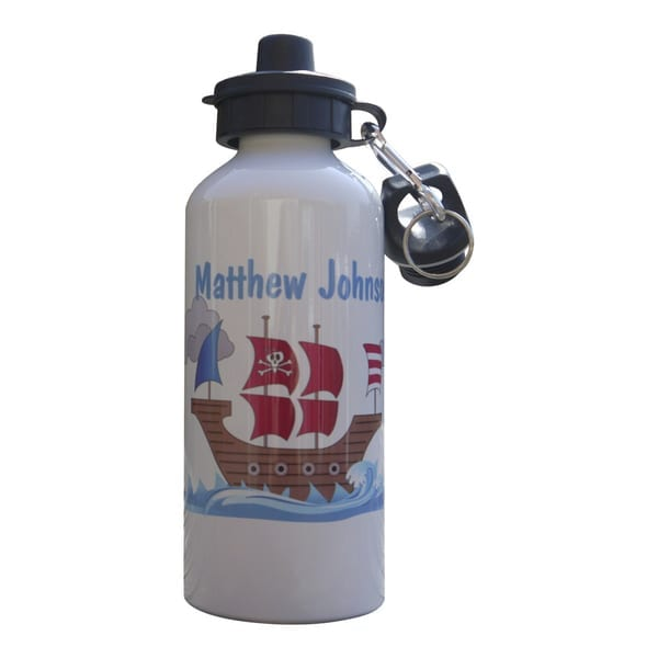 Personalised Drink Bottle - Boat Design