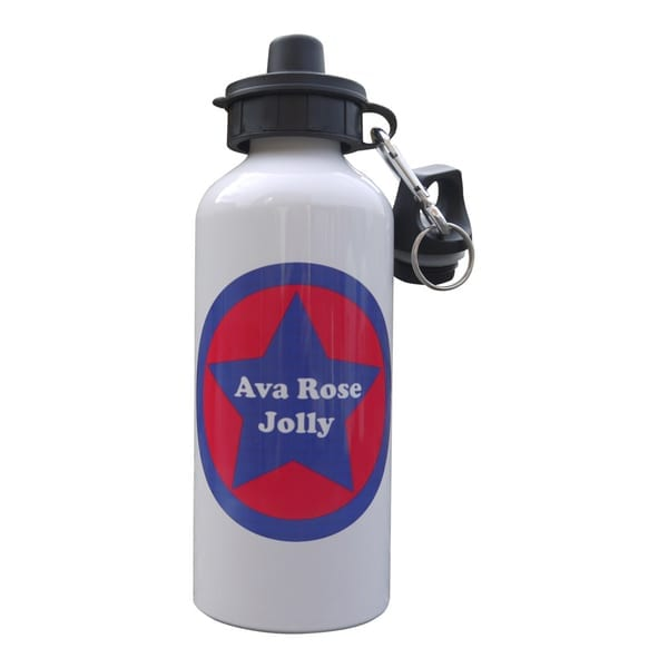 Personalised Drink Bottle - Star Design