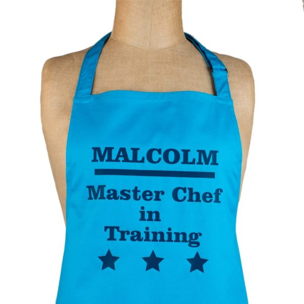 Personalised Master Chef Apron