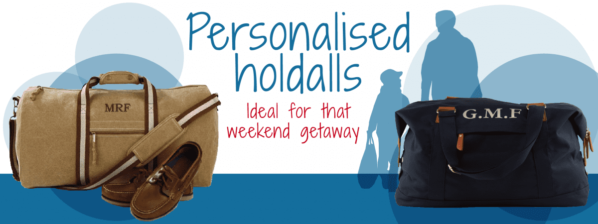 personalised holdalls