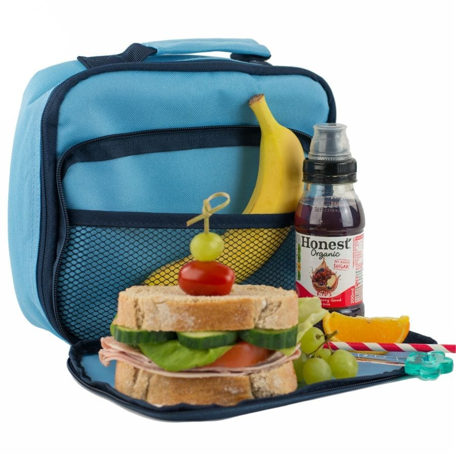 Sky Blue Lunch Bag