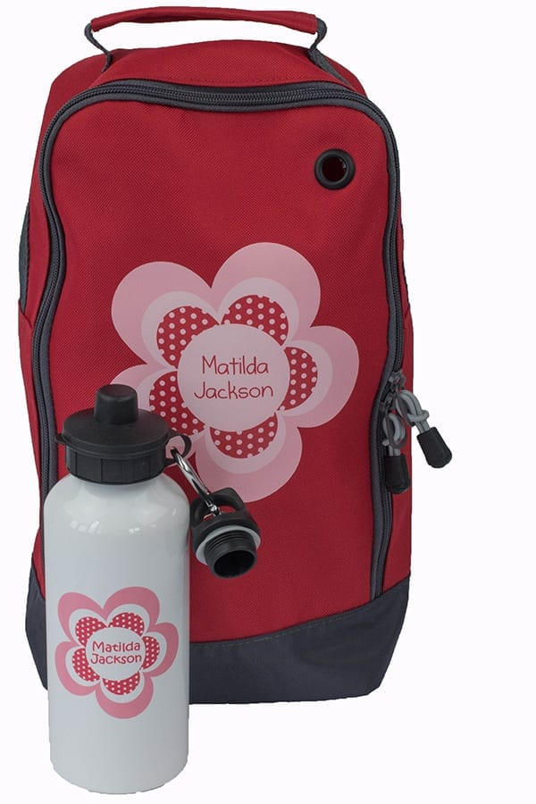 Flower Bootbag with Bottle