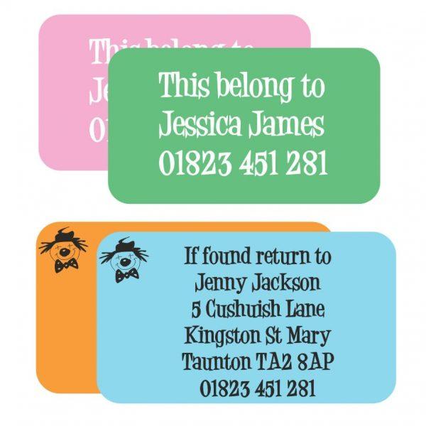 address stickers