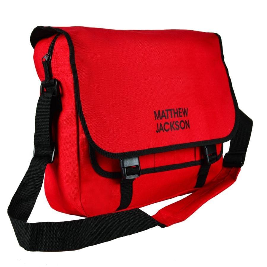 a63ccdfa5f Personalised School Messenger Bag ⋆