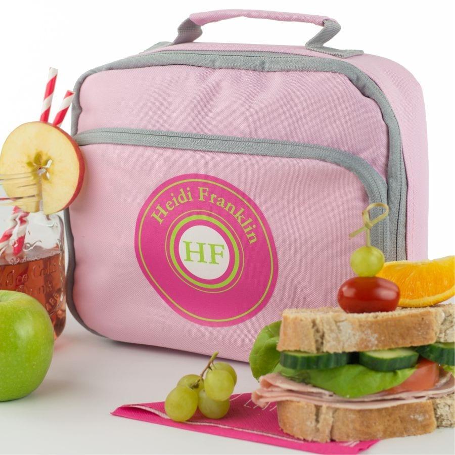Monogram Lunch Bag