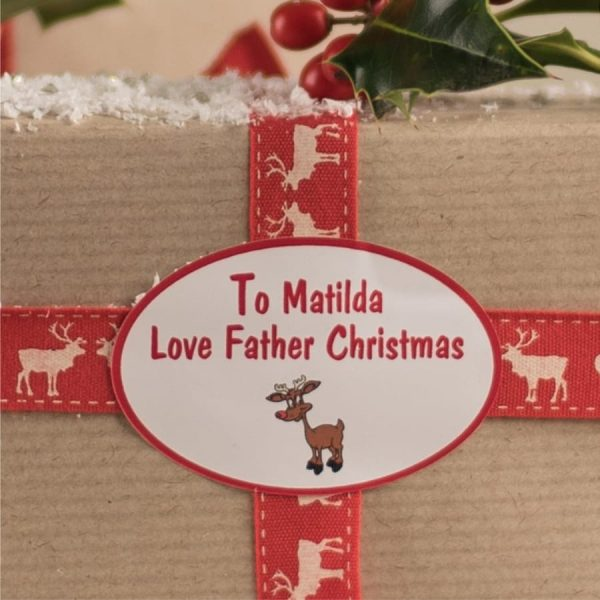 Personalised Santa Stickers