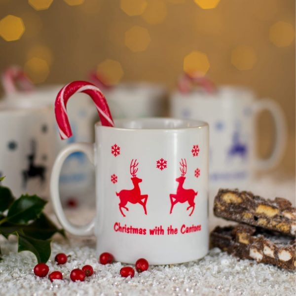 Personalised christmas at mug