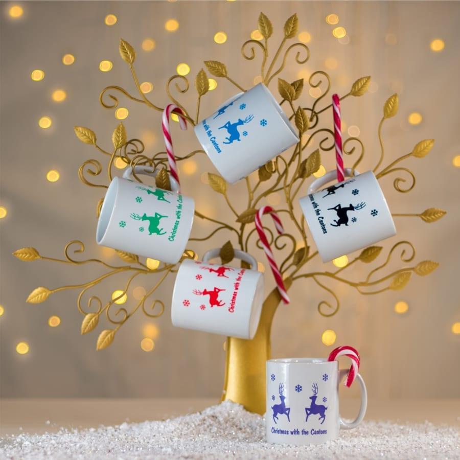Personalised Christnas At Mug