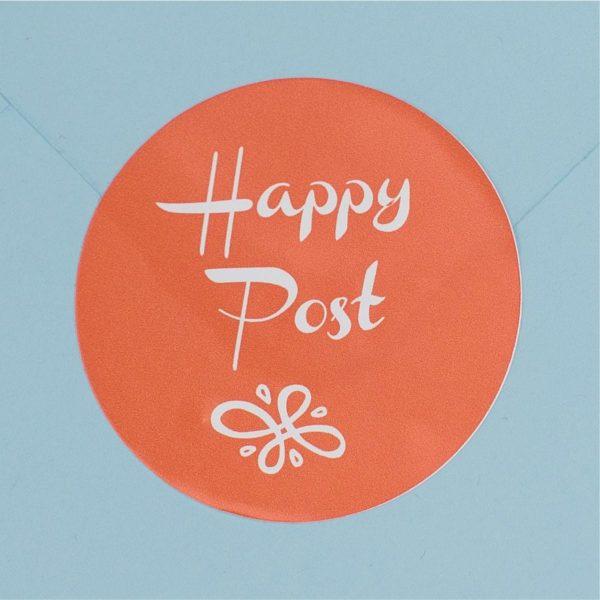 Happy Post Label