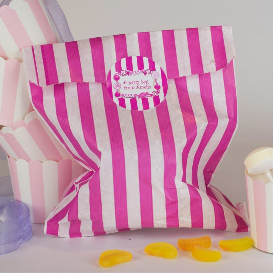 Candy Striped as Bag Seal