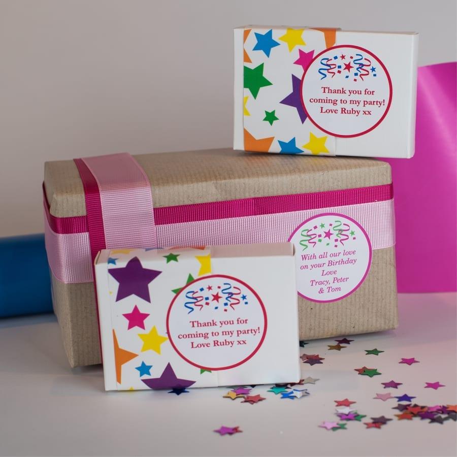 celebration gift labels