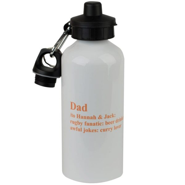 personalised definition drink bottle