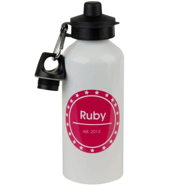 personalised kids drink bottle