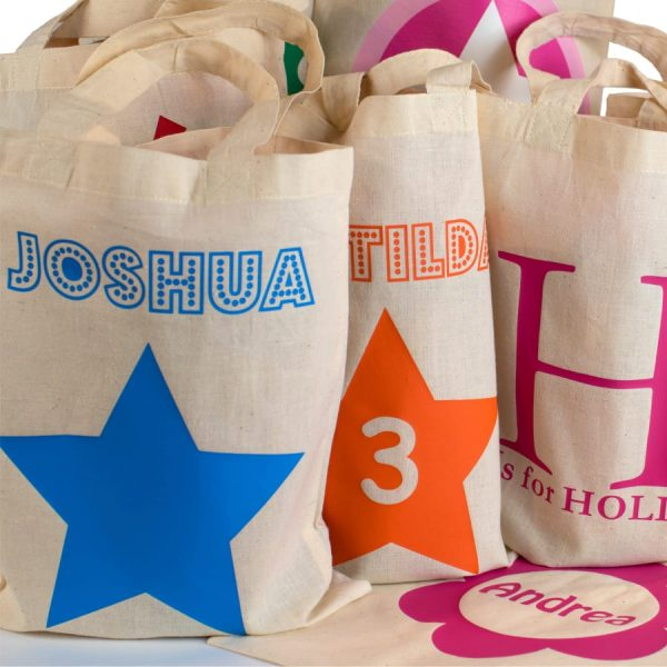 Personalised Mini Tote Gift Bags