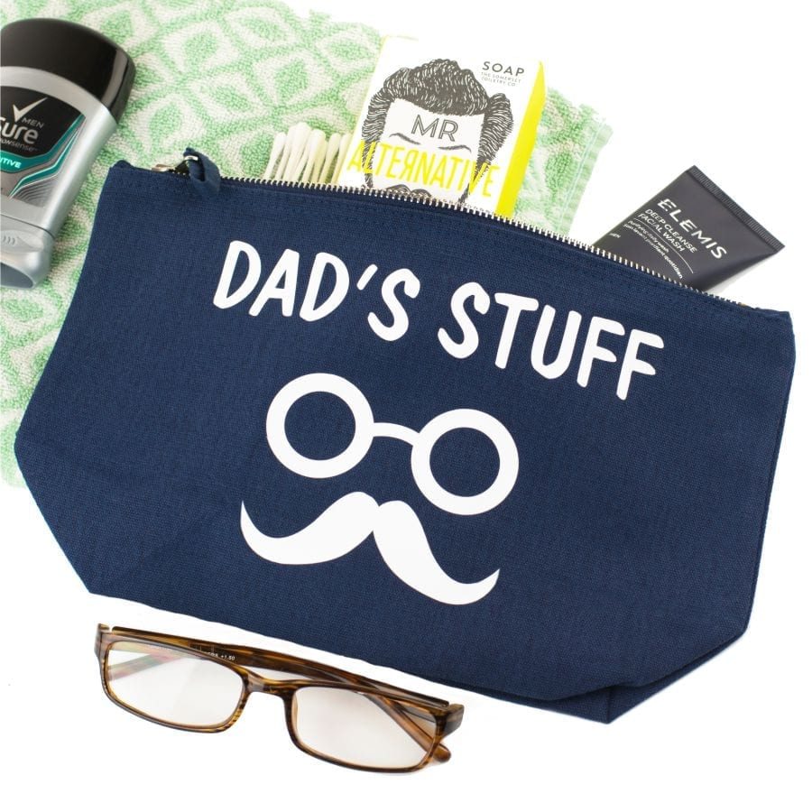 Personalised Dad's Stuff Pouch
