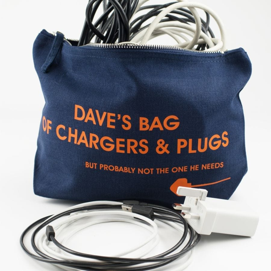 Personalised Charger Pouch