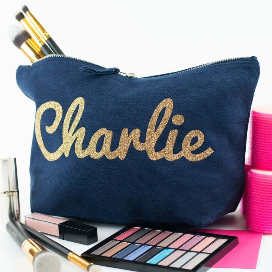 personalised named pouch