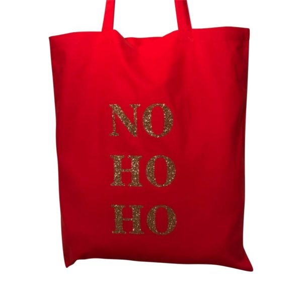 NO HO HO Tote Bag