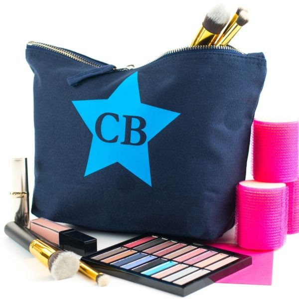 personalised monogram pouch