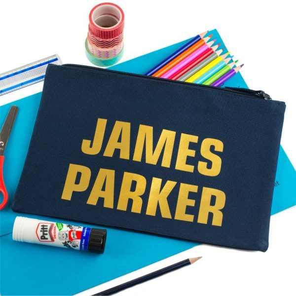 personalised large named pencil case