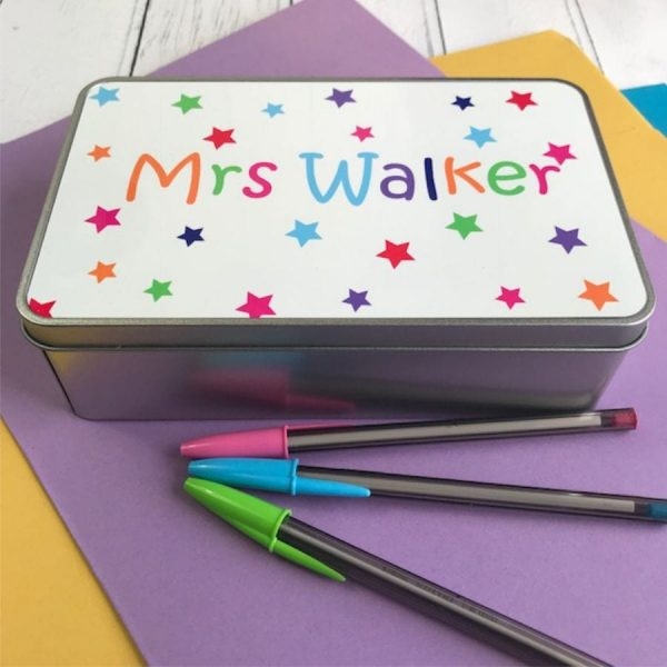 Personalised Storage Tins