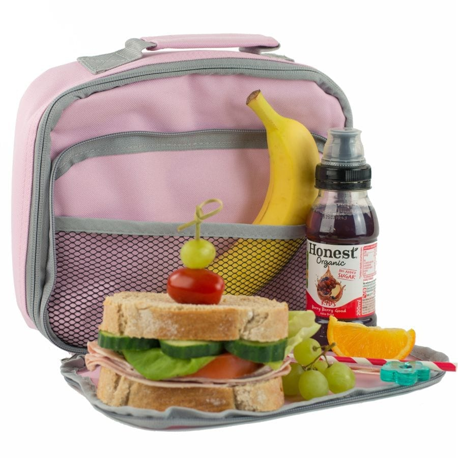 Classic Pink Lunch Bag